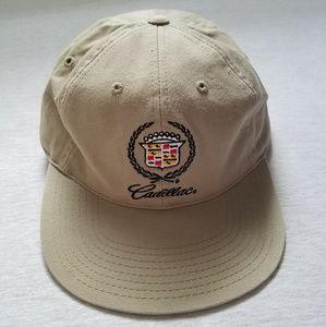 Nwt Cadillac baseball hat khaki embroidery